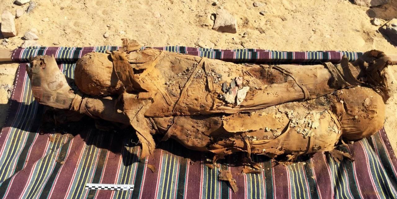 Egitto: ritrovata necropoli con 35 mummie ad Assuan (FOTO)