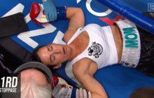 Pugilato femminile: clamoroso k.o. in 7 secondi per Miranda Adkins. È polemica per un incontro non competitivo e violento (Video)