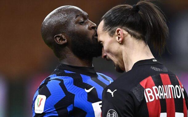 Scontro tra Ibrahimovic e Lukaku: il VIDEO di Striscia la Notizia sul burrascoso derby di Coppa Italia