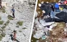 Mangiano cocco per 33 giorni, dopo il naufragio della loro barca: sopravvissuti tre cubani su un'isola deserta (Video)